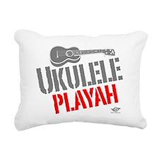 Ukulele Playah Rectangular Canvas Pillow