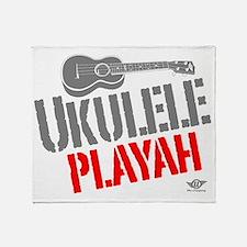 Ukulele Playah Throw Blanket