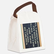 homeschool-ipad-case Canvas Lunch Bag
