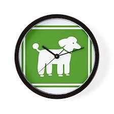 poodlesign Wall Clock