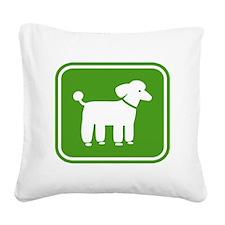 poodlesign Square Canvas Pillow