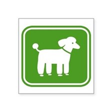 "poodlesign Square Sticker 3"" x 3"""