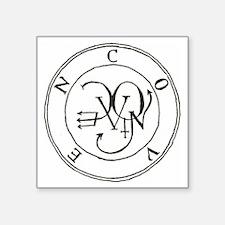 """Seal Coven Square Sticker 3"""" x 3"""""""