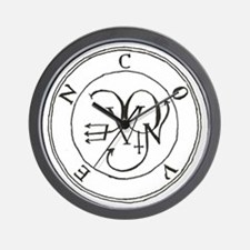 Seal Coven Wall Clock