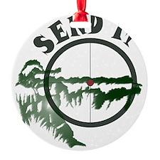 Send it Ornament