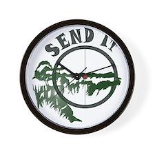 Send it Wall Clock