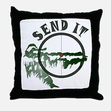 Send it Throw Pillow