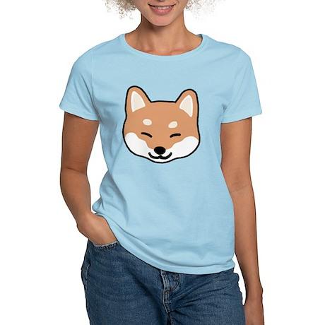 shibaface2 Women's Light T-Shirt