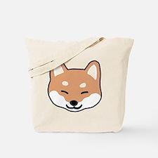shibaface2 Tote Bag