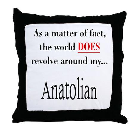 Anatolian World Throw Pillow