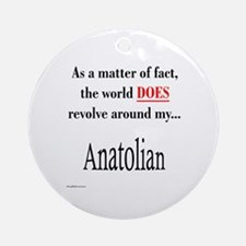 Anatolian World Ornament (Round)
