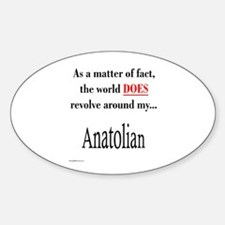 Anatolian World Oval Decal