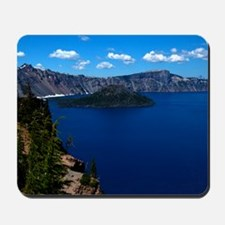 (12) Crater Lake  Wizard Island Mousepad