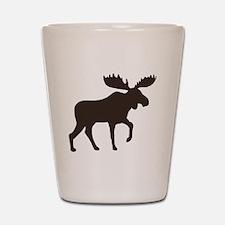 moosebrown Shot Glass