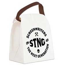 STNG_LA_black_4inches Canvas Lunch Bag