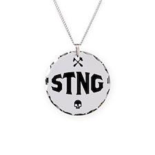 STNG_LA_black_4inches Necklace