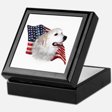 Pyrenees Flag Keepsake Box