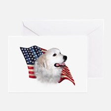 Pyrenees Flag Greeting Cards (Pk of 10)