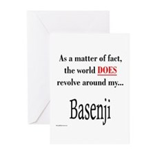 Basenji World Greeting Cards (Pk of 10)