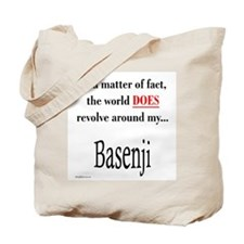 Basenji World Tote Bag