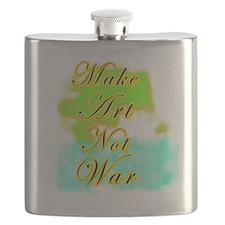 MakeArtNotWar Flask