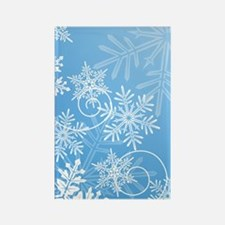 snowflakes_iph3g Rectangle Magnet