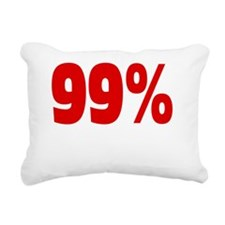 99 percentstrong dark  t Rectangular Canvas Pillow