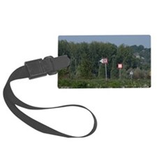 Hungary. Danube River view. Typi Luggage Tag