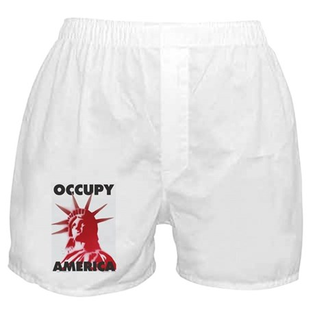 occupy america Boxer Shorts