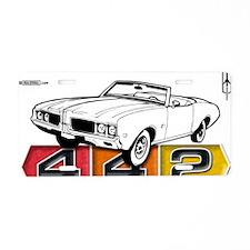 autonaut-olds-442-001 Aluminum License Plate