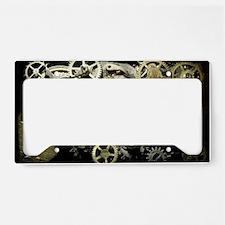 GearsLaptopII License Plate Holder