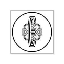 "edsel-emblem-001 Square Sticker 3"" x 3"""