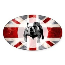 616 Union Jack Bulldog Montage for  Decal