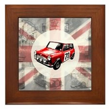 616 Union Jack Mini Montage for Cafe P Framed Tile