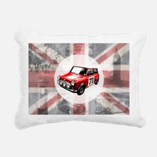 616 Union Jack Mini Mont Rectangular Canvas Pillow