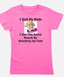 Senior Citizen Girl's Tee