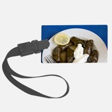 Greek Cuisine. Fresh Dolmades (V Luggage Tag