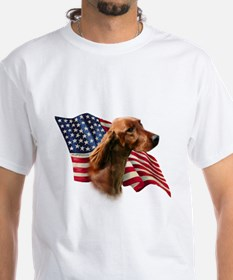 Irish Setter Flag Shirt
