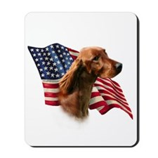 Irish Setter Flag Mousepad