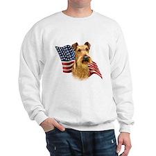 Irish Terrier Flag Sweatshirt