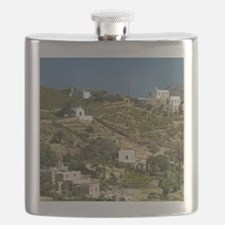 Kampos: Hillside Houses by Kampos Bay Flask