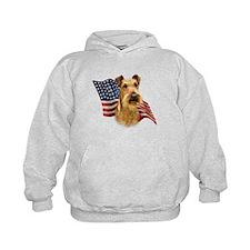 Irish Terrier Flag Hoodie