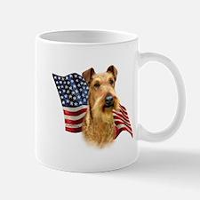 Irish Terrier Flag Mug