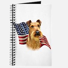 Irish Terrier Flag Journal