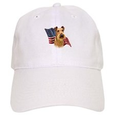 Irish Terrier Flag Baseball Cap