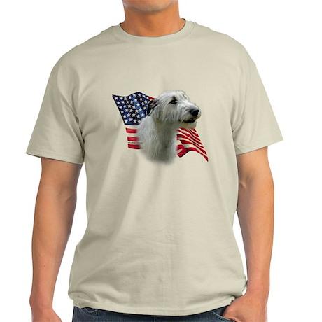 Irish Wolfhound Flag Light T-Shirt