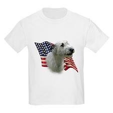 Irish Wolfhound Flag Kids T-Shirt