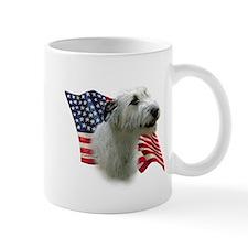 Irish Wolfhound Flag Mug