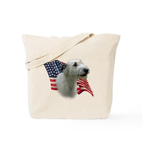 Irish Wolfhound Flag Tote Bag