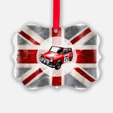 616 Union Jack Mini Montage for C Ornament